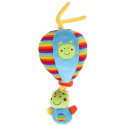 "Pull string musical plush balloon ""Frog"""