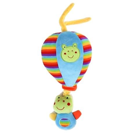 "Pull string musical plush balloon ""Frog"""