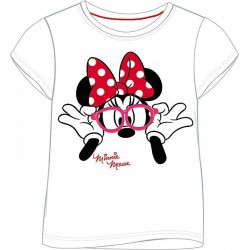 "T-shirt ""Minnie Mouse"" wit"