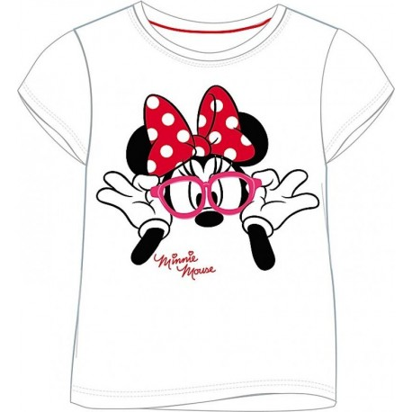 """T-shirt """"Minnie Mouse"""" wit"""