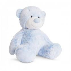 "Knuffel beertje ""Nico"" 28 cm blauw"