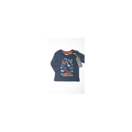 """T-shirt garçon """"dinosaure"""" bleu"""