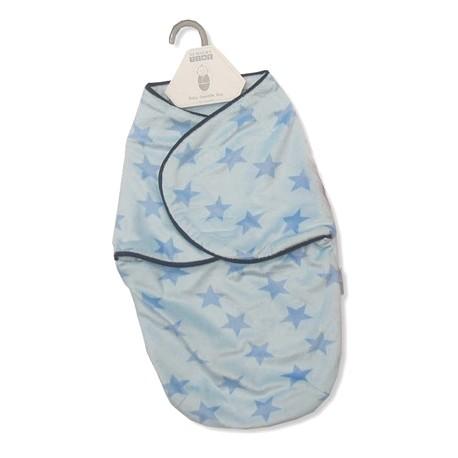 "Swadle bag for newborn ""stars"" blue"