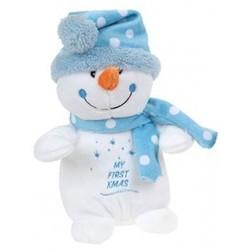 """Knuffel sneeuwman """"My First Xmas"""""""