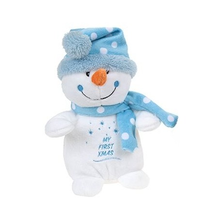 "Plush snowman ""My First Xmas"""