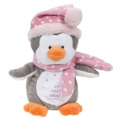 "Plush penguin ""My First Xmas"""