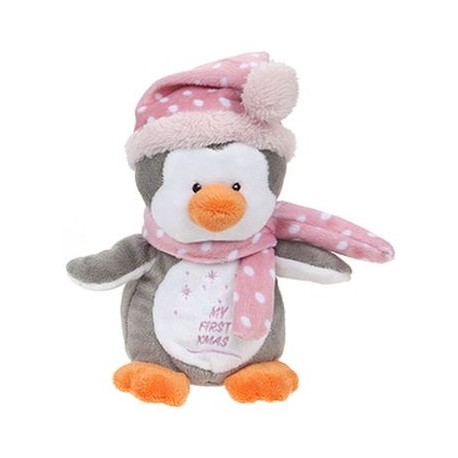 "Peluche pengouin ""My First Xmas"""