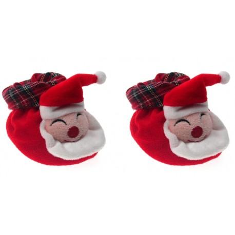 """Chaussons """"Père Noël"""""""