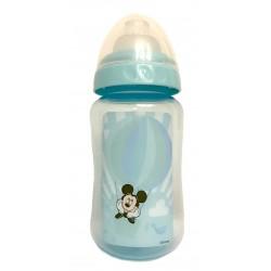 "Biberon ""Mickey Mouse"" bleu 6 mois+"