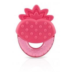 """Anneau de dentition Nuby """"fraise"""""""