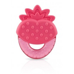 "Nuby ""strawberry"" teether"