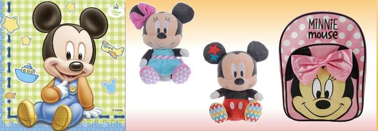 "Discover our collections ""Mickey"" and ""Minnie""!"