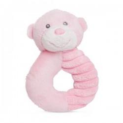 """Rammelaar beertje """"Ellie"""" roze"""