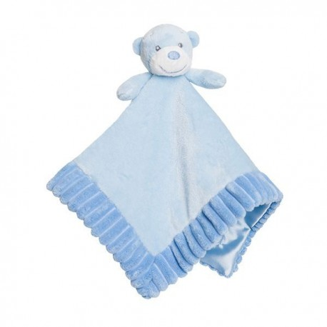 "Bonnie Comforter Blue Soft Plush ""Nico"""