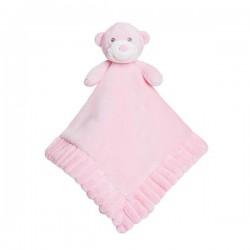 "Bonnie Comforter Pink Soft Plush ""Ellie"""