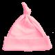 Bonnet de naissance rose