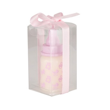 "Candle ""baby bottle"" pink"