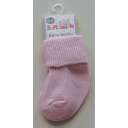 Chaussettes roses nouveau-né