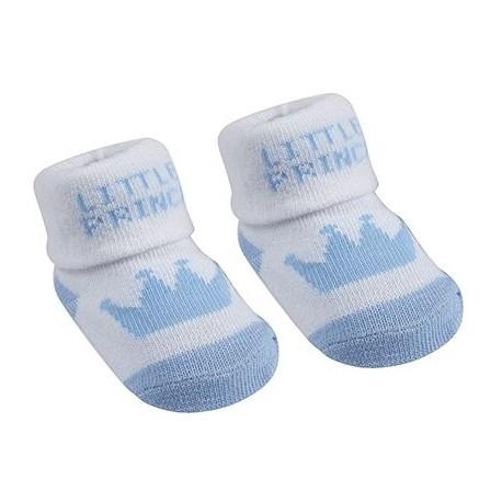"""""""Little Prince"""" sokjes met kroon"""