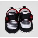 Lieve schoentjes zwart en rood