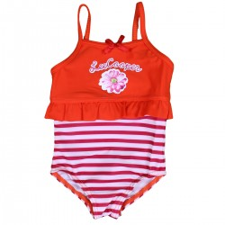 Maillot de bain fille Lee Cooper orange