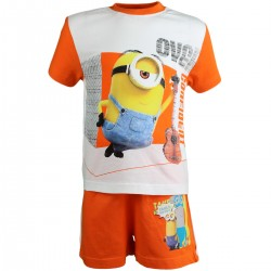 "2-piece summer set ""Minions"" orange"