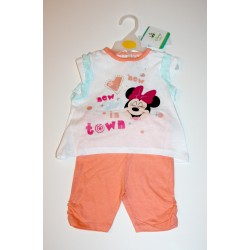 "2-piece summer set ""Minnie Mouse"" orange"