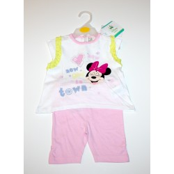 "2-piece summer set ""Minnie Mouse"" pink"