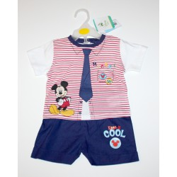 "2-piece summer set ""Mickey Mouse"" red"