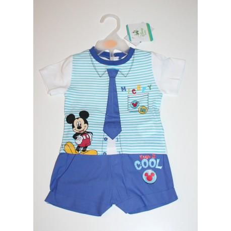 "2-piece summer set ""Mickey"" blue"