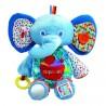 "Developmental elephant plush ""The world of Eric Carle"" blue"