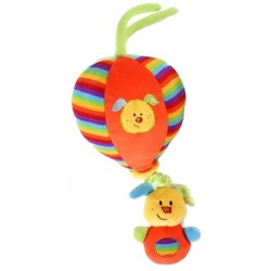 "Pull string musical plush balloon ""Dog / Puppy"""