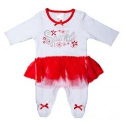 "Pyjama blanc ""Sparkle"" avec tutu"