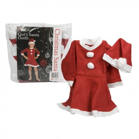 Christmas dress with hat