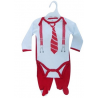 """2 pc """"Suit"""" Christmas set with body and trousers"""